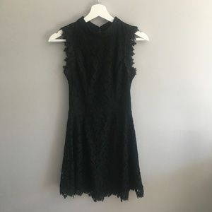 Alya Black Lace Dress